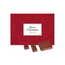 Karácsonyi reklámédesség adventi csokinaptár