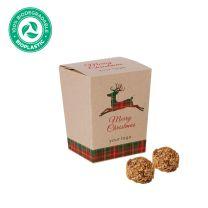 Környezetbarát karácsonyi reklámédesség