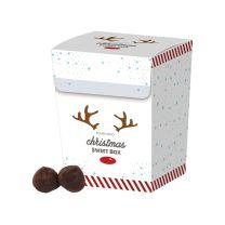 Karácsonyi reklámcsokoládé - Francia trüffel