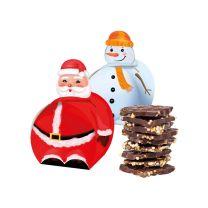 Csokoládé karácsonyi csomagolásban