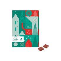 Adventi naptár logózható csokival