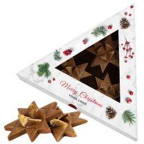 Karácsonyi csokoládé logózható dobozban