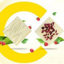 Reklámcsokoládé C-vitamminnal belga csokoládéból