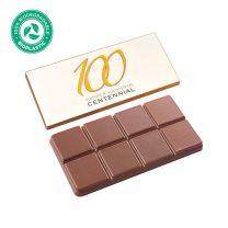 Egyediesíthető csokoládé környezetbarát csomagolásban